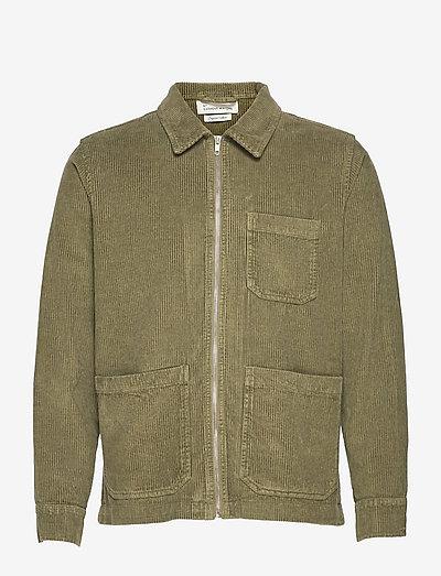 The Organic Corduroy Jacket - Matt - jeansjackor - olivine