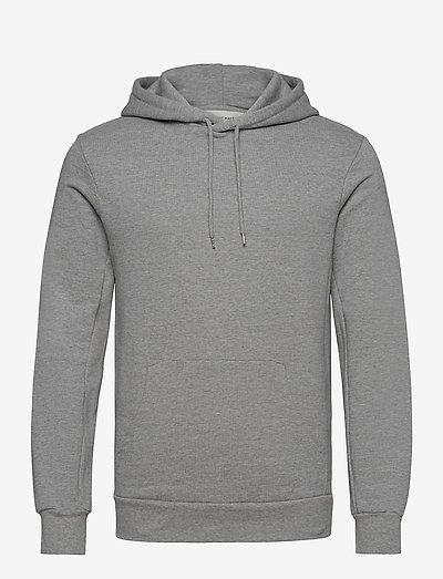 The Organic Hood Sweatshirt - Jones - sweats à capuche - light grey