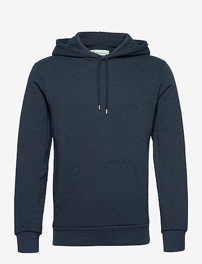 The Organic Hood Sweatshirt - Jones - sweats à capuche - navy blazer