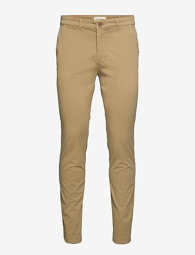 The Organic Chino Pants - pantalons chino - khaki