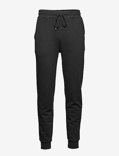 The Organic Sweatpant - Julian - vêtements - jet black