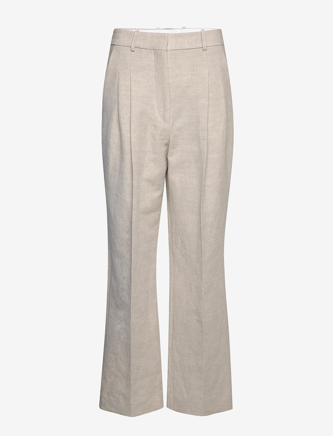 By Malene Birger - LOUISAMAY - bukser med brede ben - angora - 0