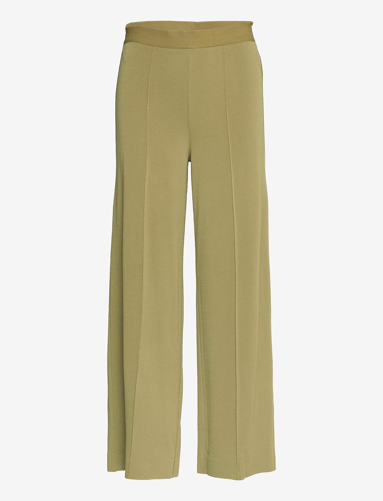 By Malene Birger - MIELA - bukser med brede ben - golden beige - 0
