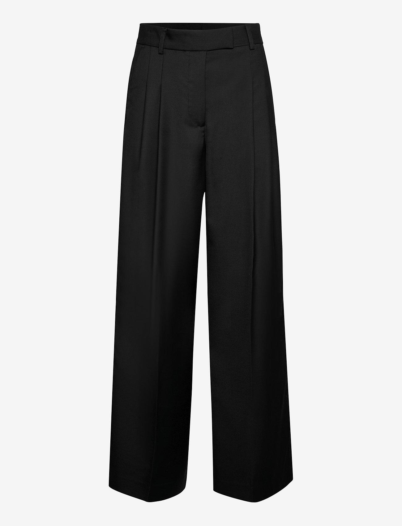 By Malene Birger - CYMBARIA - bukser med brede ben - black - 0