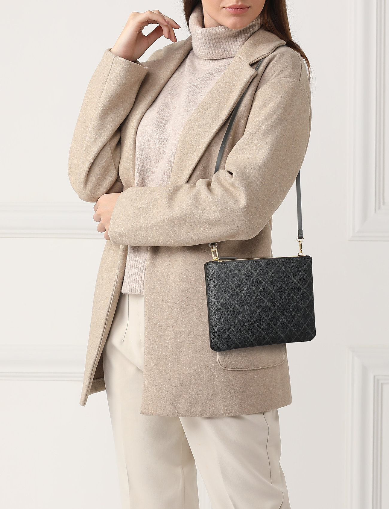 By Malene Birger IVY PURSE - CHARCOAL