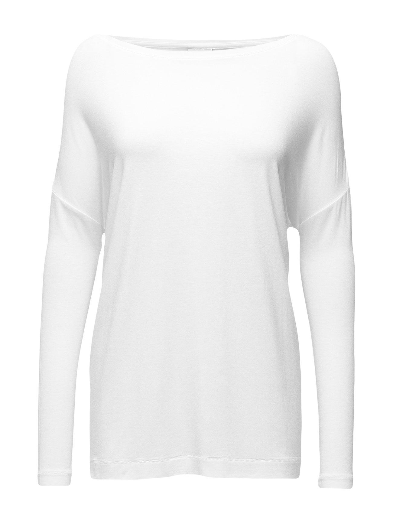 Image of Alloi Langærmet T-shirt Hvid By Malene Birger (2421321743)