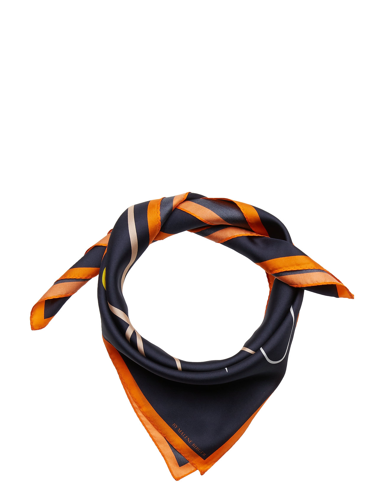 Image of Sca7008s91 Tørklæde Orange BY MALENE BIRGER (3132348909)