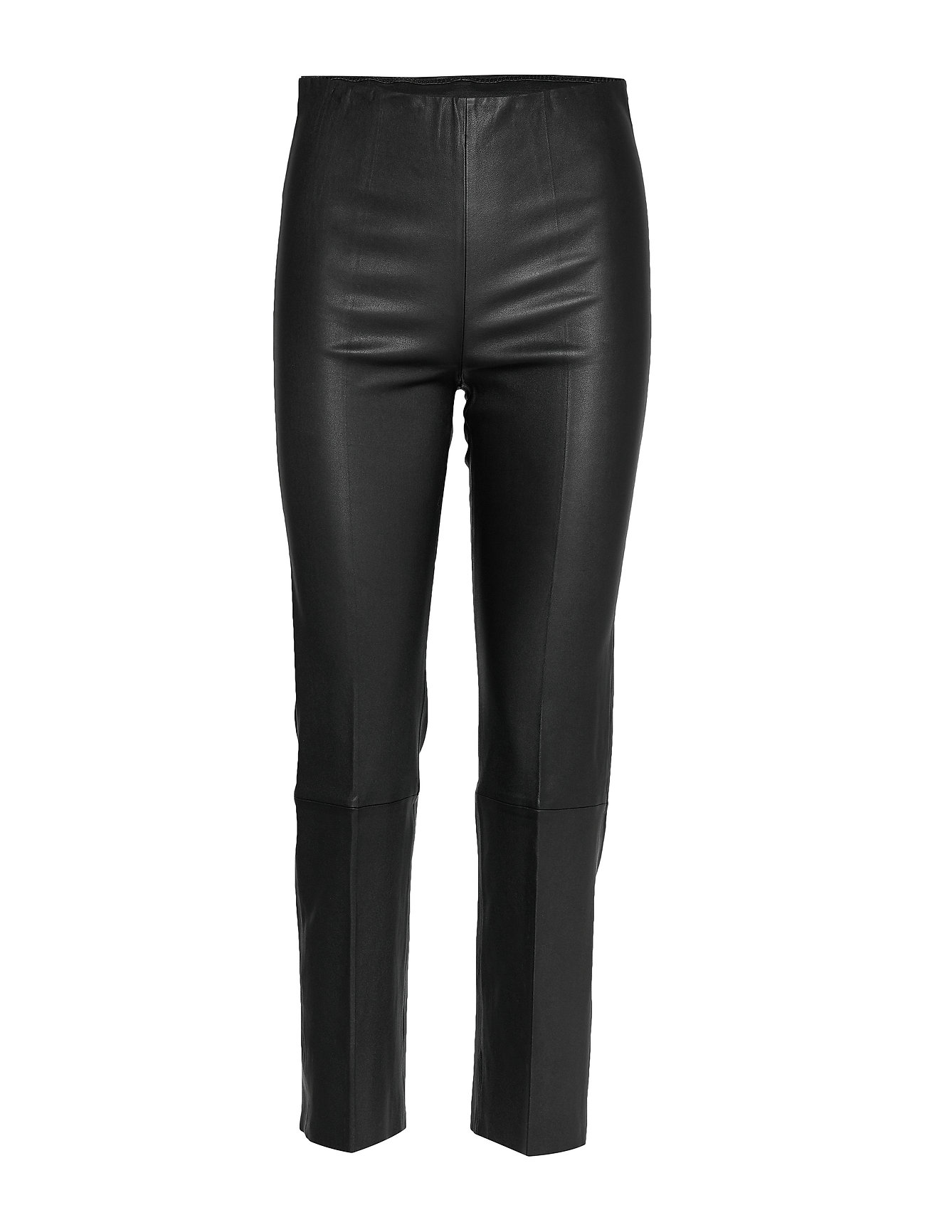Image of Florentina Leather Leggings/Bukser Sort By Malene Birger (3296720333)