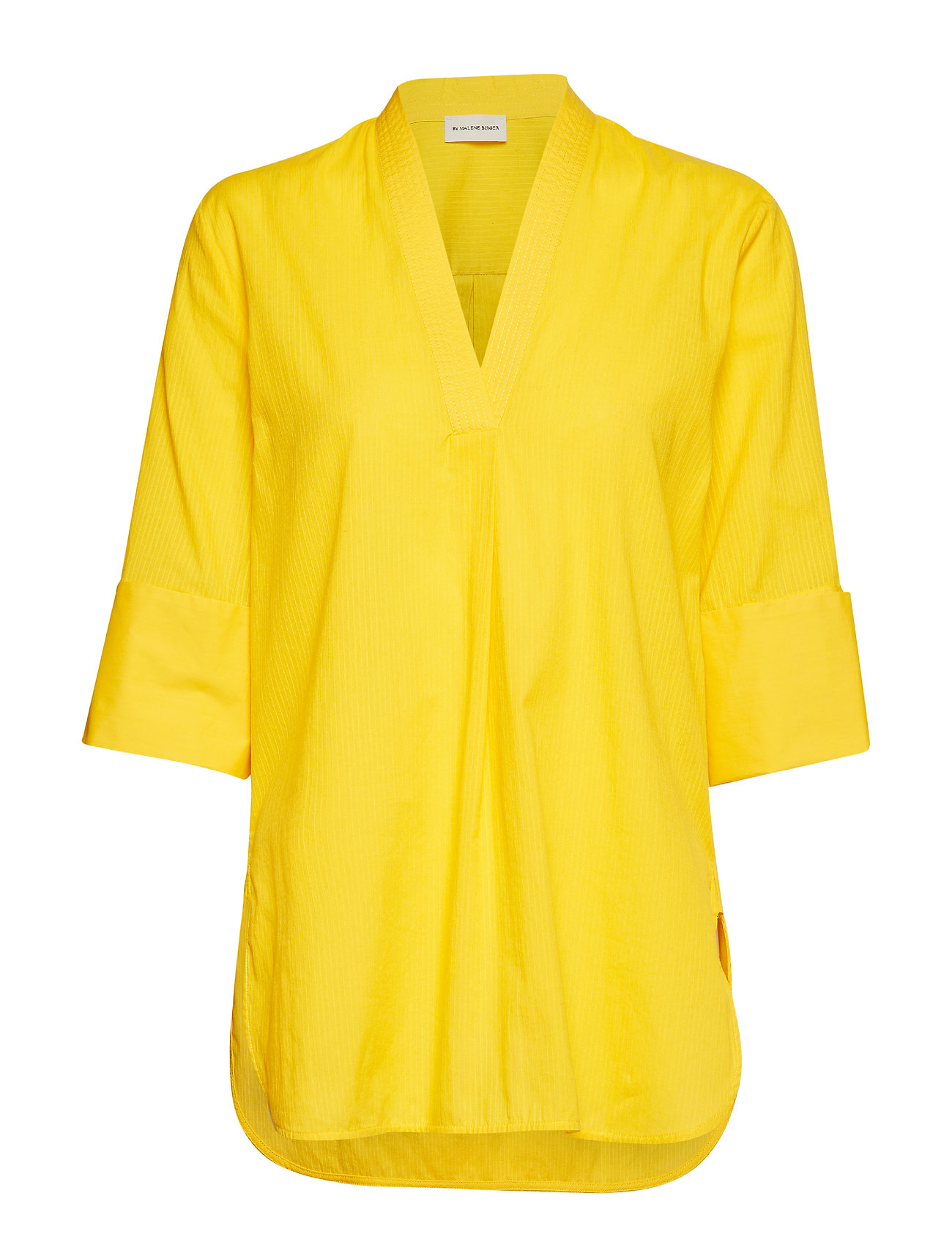 Yellow TOP MED PRINT  By Malene Birger  Bluser