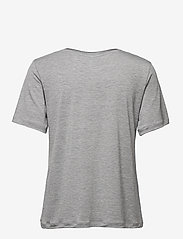 By Malene Birger - ANEILIA - t-shirts - med grey mel - 1