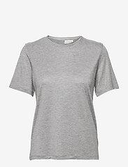 By Malene Birger - AMATTA - t-shirts - med grey mel - 0