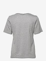 By Malene Birger - AMATTA - t-shirts - med grey mel - 1