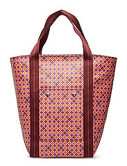 LOLA TOTE - CLEAR PINK
