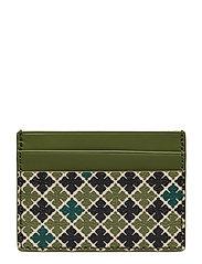 Elia Card Bags Card Holders & Wallets Card Holder Grön BY MALENE BIRGER