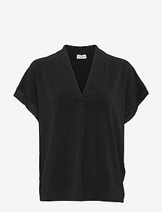 OLIVERZA - kurzämlige blusen - black