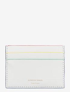 EYA CARD - korttikotelot - soft white