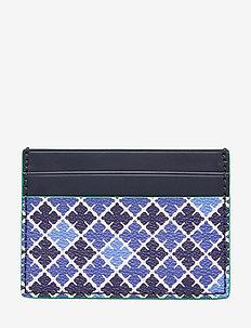 ELIA CARD - korttikotelot - bay blue