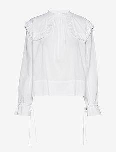 SALINGER - langärmlige blusen - pure white