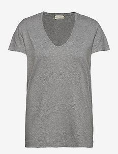 FEVIA - t-shirts - med grey mel
