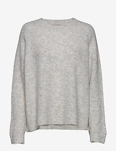 ANA - trøjer - light grey melange