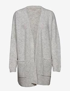 URSULA - cardigans - light grey melange