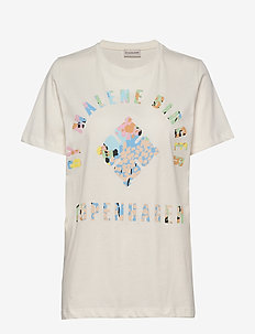 DESMOS - logo t-shirts - soft white