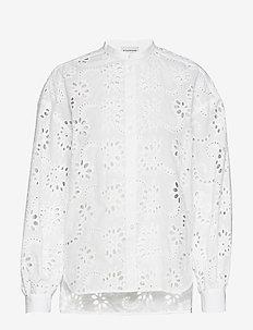 EMMETT - langärmlige blusen - pure white