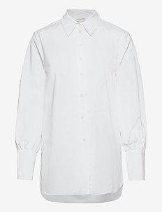 MARTIGUES - langärmlige hemden - pure white