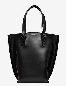 MIA TOTE - fashion shoppers - black