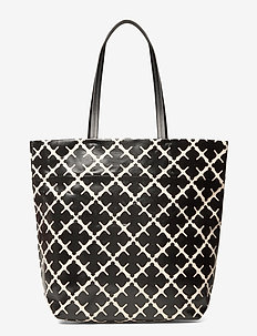 AGNES TOTE - fashion shoppers - soft white