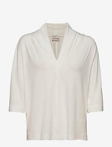 BIJANA - kortærmede bluser - soft white
