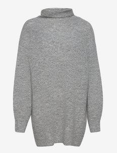 DERINA - rollkragenpullover - med grey mel