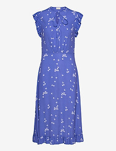 SPAINE - midi kjoler - amparo blue