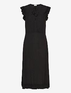 SPAINE - midi kjoler - black
