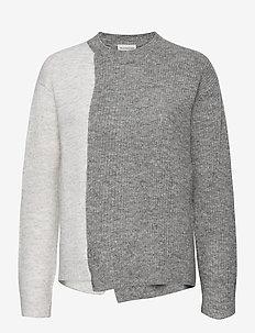 BIXA - pullover - med grey mel