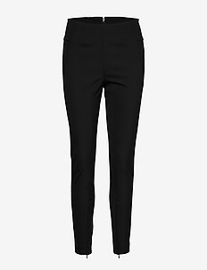 ADANIS - slim fit bukser - black