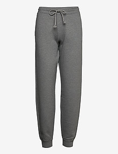 ANGLEA - sweatpants - med grey mel