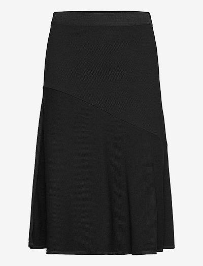 TASSIA - midi-röcke - black