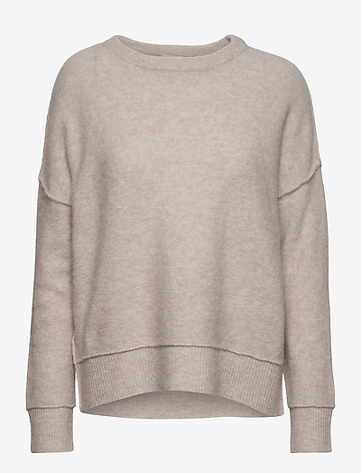 BIAGIO - trøjer - beige melange