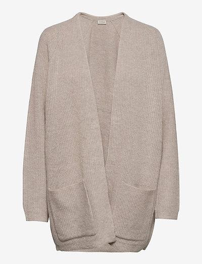 BELINTA - cardigans - beige melange