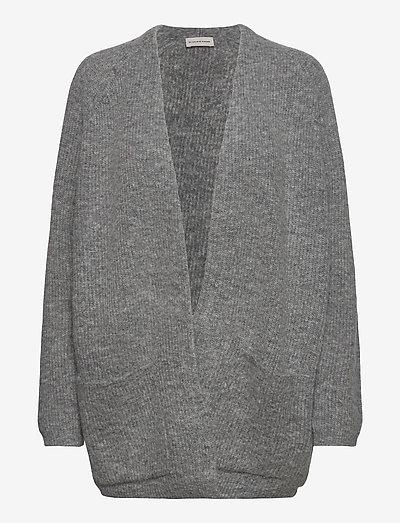 BELINTA - cardigans - med grey mel