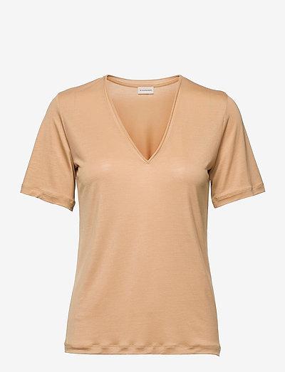 ANEILIA - t-shirts - tan