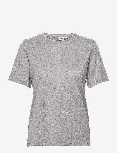 AMATTA - t-shirts - med grey mel