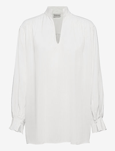 CENTIA - langärmlige blusen - soft white