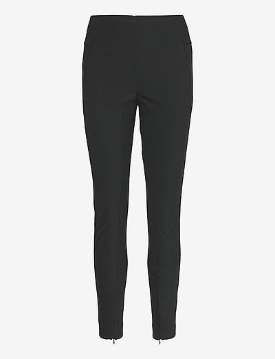 ADANIS - slim fit bukser - black