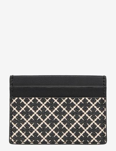 ELIA CARD - plånböcker - black