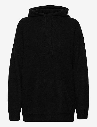 AGATEA - sweatshirts & hættetrøjer - black