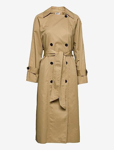 RAMALO - trenchcoats - golden beige