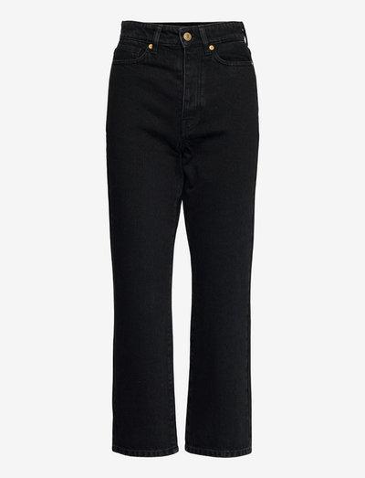 MILIUM - straight jeans - black