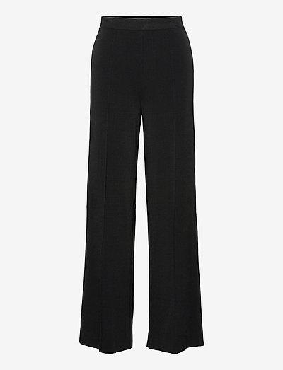 MIELA - vide bukser - black